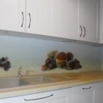 panele kuchenne, szkło Float