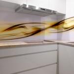 panele kuchenne, szkło Optiwhite