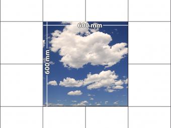 panele podłogowe 60 x 60 niebo