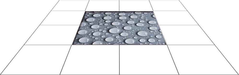 panele podłogowe 60 x 60 krople