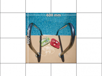 panele podłogowe 60 x 60 Basen