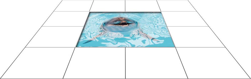 panele podłogowe 60 x 60 Delfin