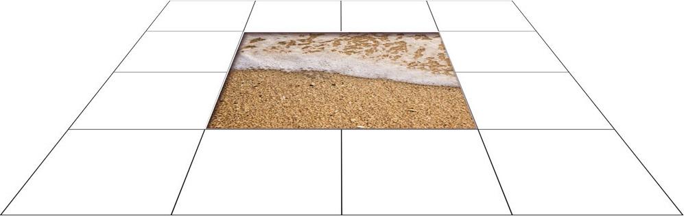panele podłogowe 60 x 60 Piaszczysta plaża