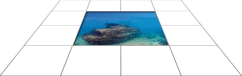 panele podłogowe 60 x 60 Wrak